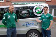 FC BURG erhält Mannschaftstransporter