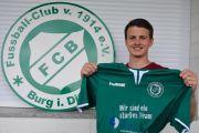Neu beim FC Burg: Jan Kuhrt